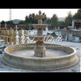 Fontana antica del travertino per un regalo Mf-833