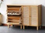 صلبة خشبيّة حذاء خزانة كرسيّ مختبر حديث يعيش غرفة حذاء خزانة ([م-إكس2065])