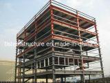 Alto edificio prefabricado de la estructura de acero de la luz de la subida de China