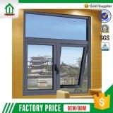 Guichet en aluminium de tissu pour rideaux de l'interruption 60 thermique (60-T-B-A-C-W-003)