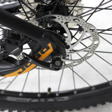 Alliage d'aluminium Moteur moyen Vélo électrique / Suspension intégrale Vélo de montagne électrique