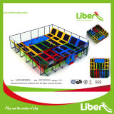 Gymnastic profissional Olymppic Trampoline Park com Ball Hoops
