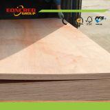 Carvalho vermelho/madeira compensada extravagante folheada natural do Teak/cinza/bordo