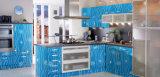 Il PVC colora il piatto rivestito dell'acciaio inossidabile per il progetto interno