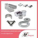 Superenergie kundenspezifisches N32-N55 NdFeB Dauermagnet mit Block-/Platten-/Zylinder-/Ring-Form