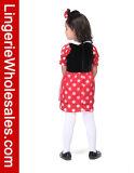Платье Cosplay мыши Минни причудливый ягнится Costume для девушок
