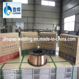 0.61.6mm 250kg Drum Packing Solid mig Welding Wire