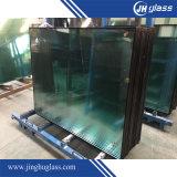 стекло 5mm+9A+5mm салатовым изолированное поплавком
