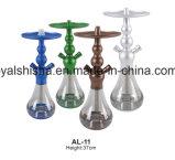 De nieuwe Hete Verkopende Waterpijp Shisha van Celeste van het Aluminium van Chicha Gr Badia