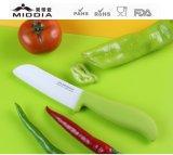Cuchillo de cerámica antibacteriano del filete, rebanando el cuchillo