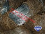 Fio de aço galvanizado mergulhado quente /Zinc que reveste o fio/fio galvanizado