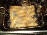 Ressort plat fabriqué à la main Rolls de rectangle du légume 25g/Piece de 100% congelé par IQF