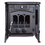 Stufa del ghisa, stufa del combustibile solido (FIPA024), stufa Burning di legno