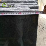 Bancada preta Polished Cut-to-Size fábrica do granito da superfície G654 para a cozinha