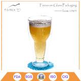 350ml Drinkwares di vetro doppio per birra