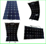 2017 panneau solaire semi flexible propre et vert de l'énergie 100watt