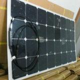 구부릴 수 있는 PV 모듈 Sunpower 세포 반 유연한 태양 전지판 100W