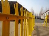 La palizada Fence/PVC cubrió el cercado de acero del piquete del jardín