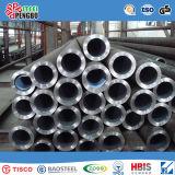 Tubo de acero inoxidable de Ss304 Ss316L Sch15-80 con el SGS