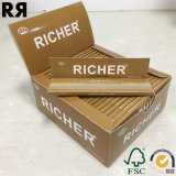 Richer doble Windows 70 * 36 mm cigarrillos Rolling Paper 100 papeles
