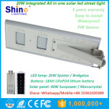 20W 태양 LED 거리 또는 정원 빛