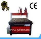 Древесина мебели машины маршрутизатора CNC Muti-Головки Ql-1325 таблицы вакуума конкурсная