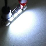 車のための12V 36mm 3*5050SMD Canbus LEDの花飾りの球根LEDライト