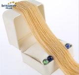 De natuurlijke Bundels van de Halfedelsteen om Halfedelsteen van de Jade van 2mm de 3mm In het groot Gele