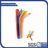 다채로운 소형 플라스틱 밀짚