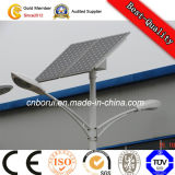 Illuminazione palo solare esterna d'acciaio galvanizzata della via LED del TUFFO caldo