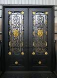 Sucurityの家のための装飾用の錬鉄エントリ前ドア
