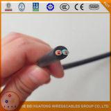 Faisceau en caoutchouc de cuivre flexible IEC60245 du câble 3 de H07rn-F