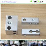 Части металла высокого качества подвергая механической обработке в подвергать механической обработке CNC