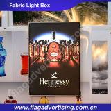 Kundenspezifische Werbung LED Stoff Außen Light Box mit Aluminiumrahmen
