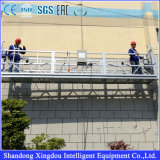 Plataforma suspendida limpieza de acero industrial para la venta