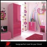 寝室の家具の安の光沢度の高い木の寝室セット