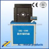 PLCは自動油圧ホースの押す機械/油圧ゴム製管の出版物のひだが付く機械を制御する