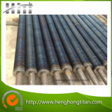 Carbonio Steel Welded Fin Tube in Heat Exchanger