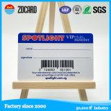 オフセット印刷バーコードが付いている前払いされたプラスチック会員PVCカード
