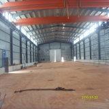 Costruzione prefabbricata del gruppo di lavoro dell'acciaio per costruzioni edili di concentrazione di Hight con la gru