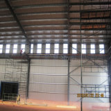 Edificio prefabricado de alta resistencia del taller del acero estructural con la grúa