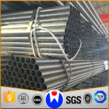 Tubo d'acciaio galvanizzato in qualsiasi lunghezza per Buliding