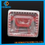 Pp ambiants à l'intérieur du conditionnement des aliments en plastique de support