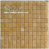 Backgroud/Floor/Wall/BathroomのためのJ116 Tanslucent Exotic Yellow Honey Onyx Mosaic