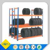 산업 타이어 저장 광속 선반