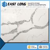 Pedra de quartzo de Calacatta e pedra de prata de quartzo