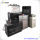 alimentação por acumuladores solar do gel da bateria do AGM do UPS 2V1000ah