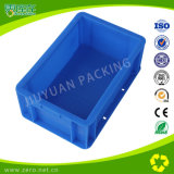 Blue Color Light Duty Injection Plastic EU Turnover Box