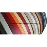 PVC lustré élevé Lipping/bordure foncée pour des meubles fabriqués en Chine