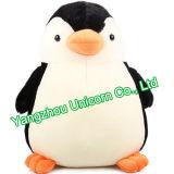 Brinquedo enchido macio do luxuoso do pinguim do presente do chapéu do tampão do Natal do CE